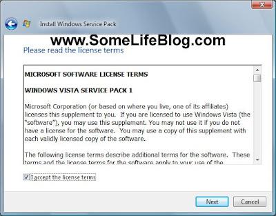 Vista SP1 Upgrade Update Solutions Problems Fixes 2