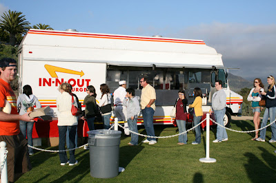 Pepperdine Homecoming 2008 - You cannot have an event at Pepperdine without In-N-Out!