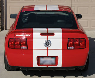 2007 Ford Mustang Shelby GT500 Rear View