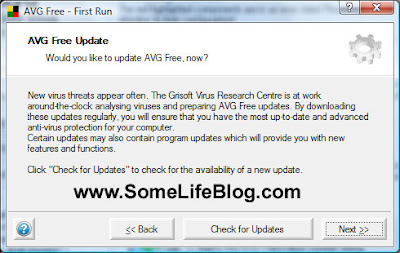 Configuration for AVG Free Anti-Virus for Windows Vista Ultimate 64-bit (x64) 2