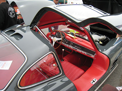 Pismo Classic 1954-57 Mercedes Benz 300SL Gullwing interior
