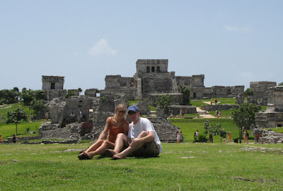 Tulum, Mexico Ancient Mayan City Temple