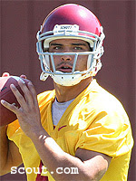 Mark Sanchez starts for the USC Trojans today against Arizona