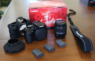 Sold my Canon Rebel XTi on eBay