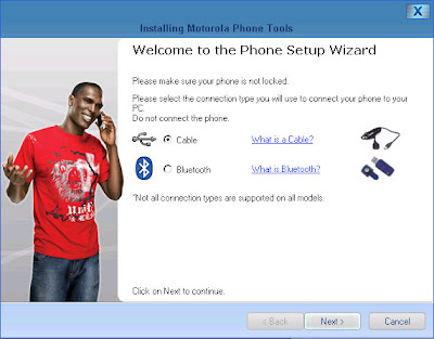 Motorola Phone Tools (MPT) V5 Upgrade 9: Welcome to the new version of MPT, V5!  Your upgrade is complete.