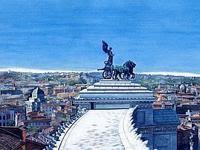 Il Tempio Di Minerva Ascensori Panoramici Altare Della Patria