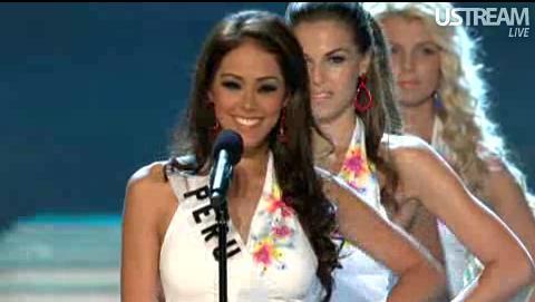 Miss Perú en preliminares