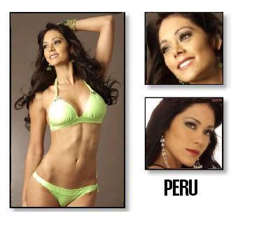 Miss Perú, Karen Schwarz espera quedar entre las 15 finalistas