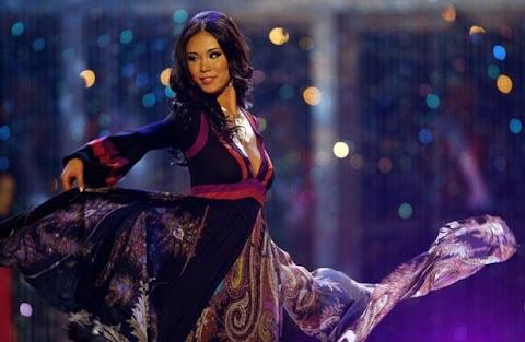 Las candidatas en traje de noche, Miss Universe 2010