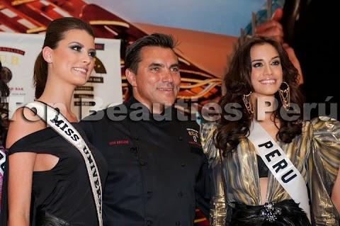 Giuliana Zevallos en Miss Universe 2010