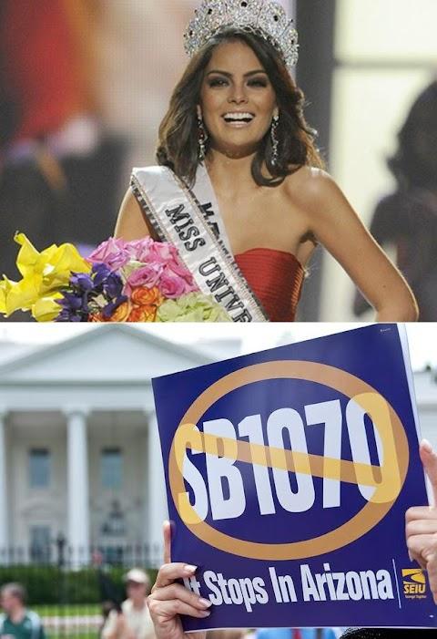 Miss Universe 2010, ¿Elección legal o  antiinmigrante?