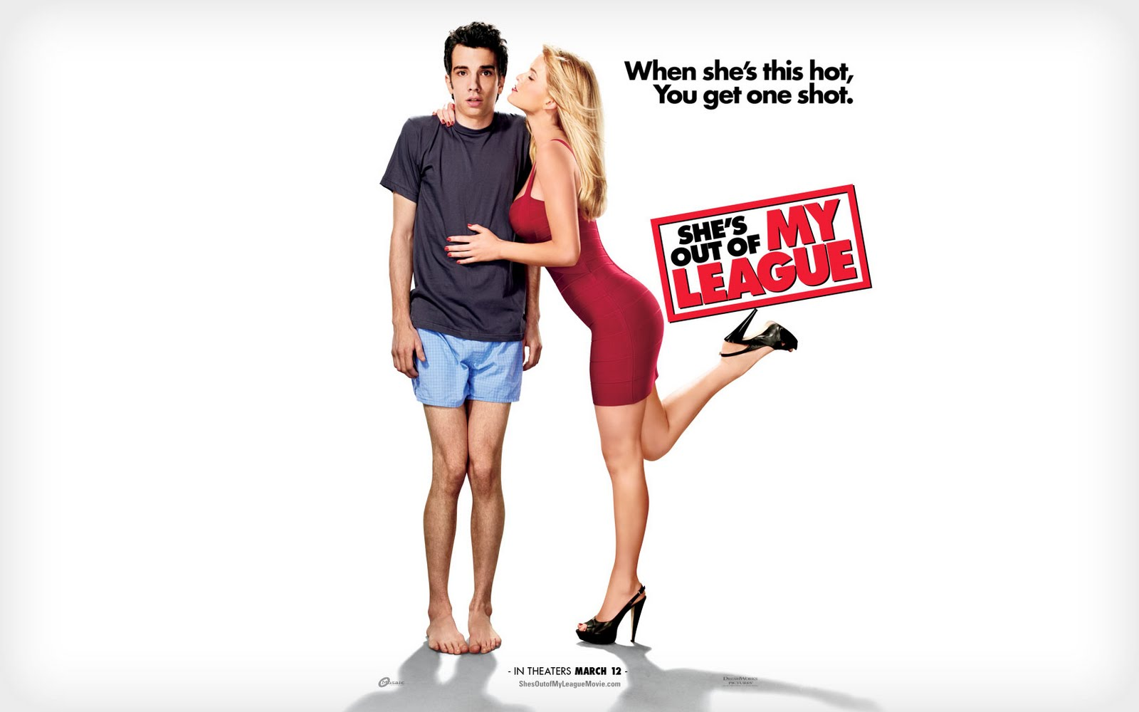 review she s out of my league Amazoncom: she's out of my league [blu-ray]: jay baruchel, alice eve, tj   the people who have given this movie negative reviews have dismissed it as an .