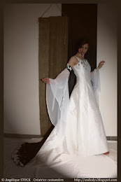 Robe de mariée féerique Estelle