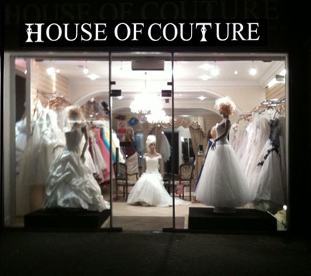 Wedding dresses prom dresses by house of couture 24 apr for House of couture