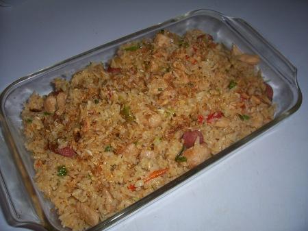 Bahan Memasak Nasi Goreng Ulam Betawi :