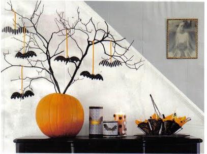 Mesas de halloween for Decoracion mesa halloween