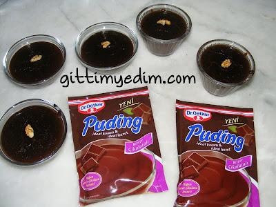 dr oetker bitter cikolatali puding