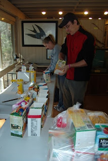 Building nest boxes at Audubon's Francis Beidler Forest by Mark Musselman