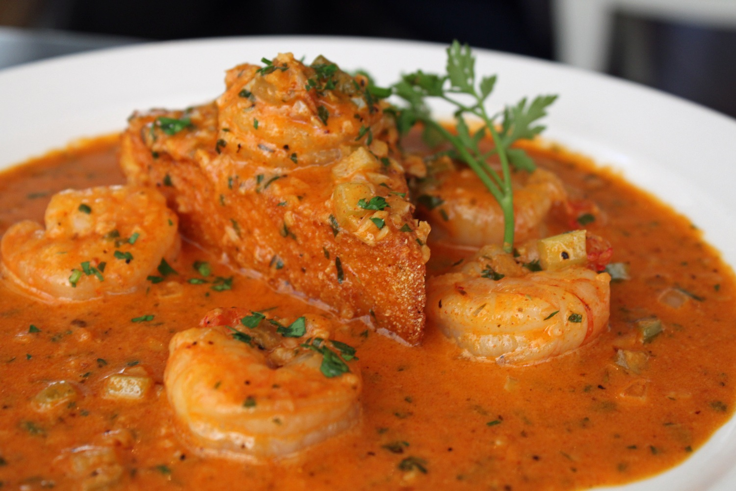 Shrimp Creole, Inspired by an Evening at The Red Door, Mission Hills