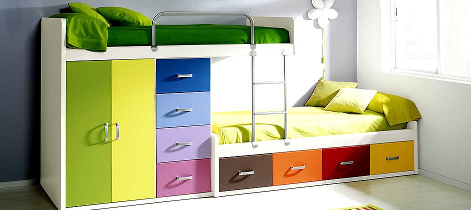 Beliches Ideias decoração mobiliário ~ Quarto Pequeno Juvenil