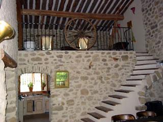 Mezzanine rústica