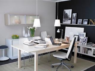 decoração escritório confortável | ideias decoração mobiliário