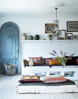 ideias de decoração  mobiliário | alternativa à mesa de centro