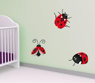 ideias decoração mobiliario | adesivos didácticos para bebé