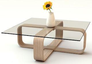 mesa de centro vidro | Ideias decoração mobiliário