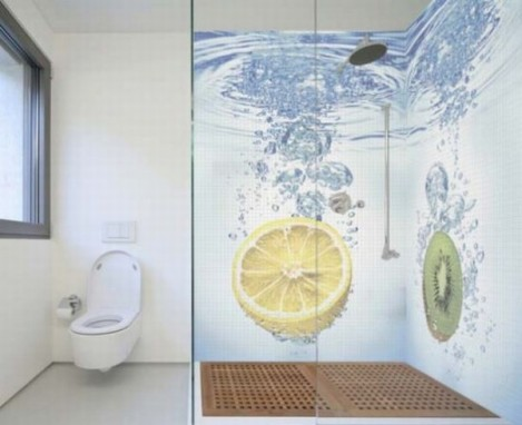 Mosaicos De Casa Banho Ideias Decorao Mobilirio