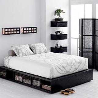 Ideias decoração mobiliário | cama arrumação fácil