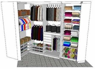 Ideias decoração mobiliário | roupeiro medida projecto grátis