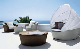 Ideias decoração mobiliário | zona de estar exterior