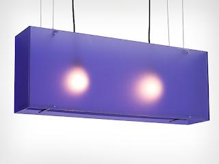 candeiro rectangular