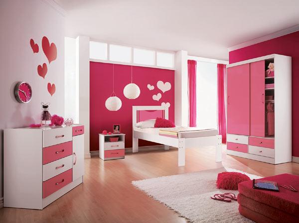 Quarto de meninas Ideias decoração mobiliário ~ Quarto Rosa Fotos