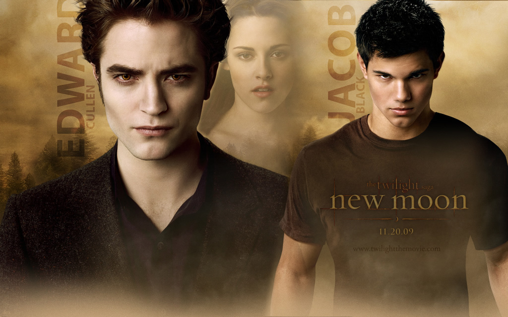 wallpaper twilight saga. wallpaper twilight new moon.