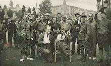 Batallón Thälmann en reposo en Barcelona-Battalion Thälmann recuperate in Barcelona