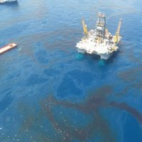 Oil Spill Off the Coast of Florida