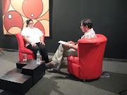 Entrevista en el canal UNE, Bucaramanga Colombia