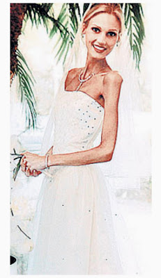 anorexia, anorexic, bride, Laura Wilson