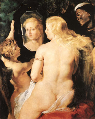 Venus at a Mirror, Rubens, 1660