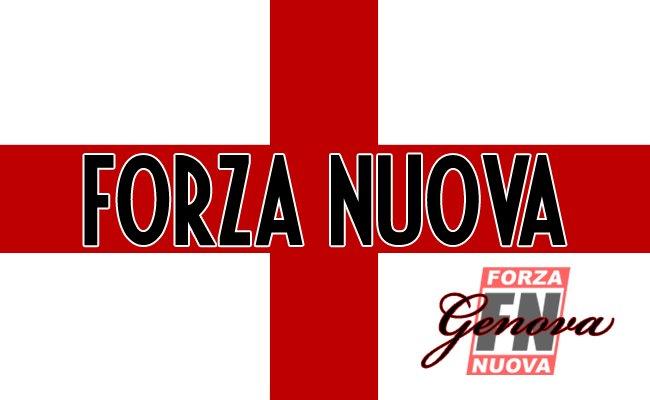 materiale Forza Nuova Genova