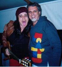 Sandra Grego e Sérgio Gerônimo