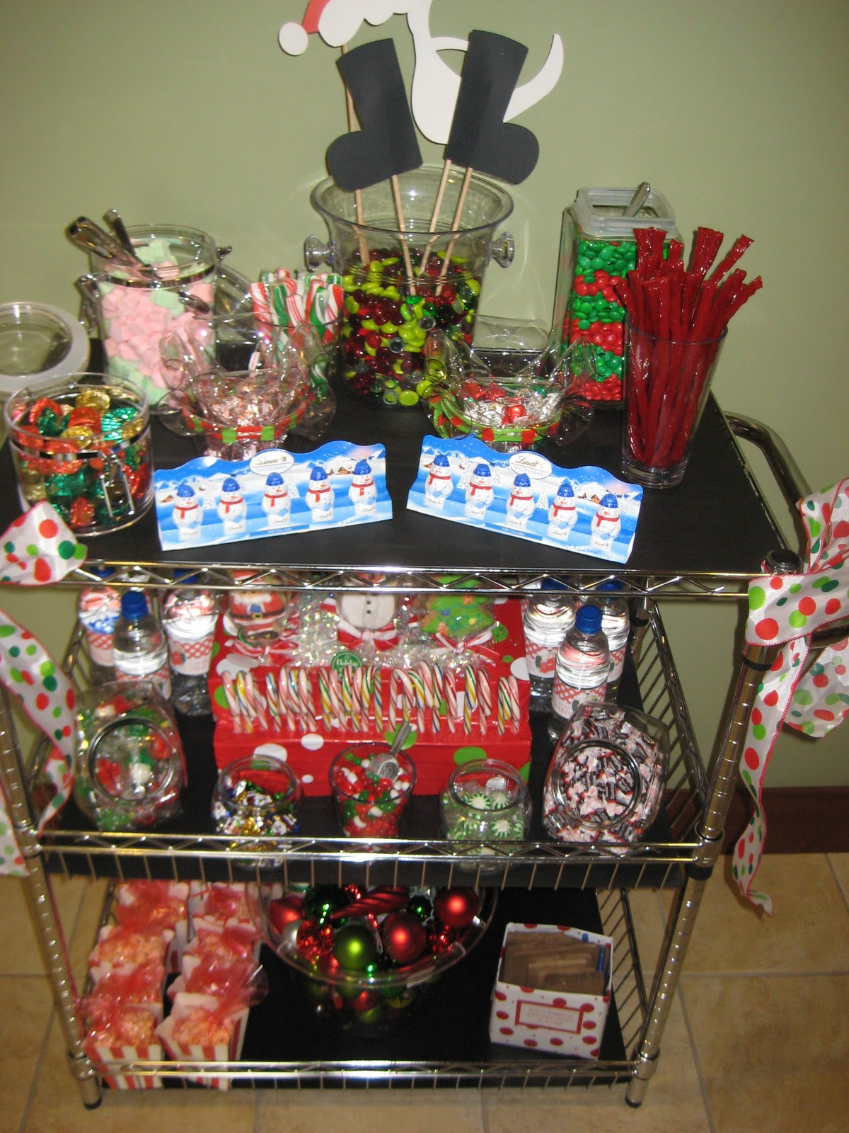 Candy Cart Centerpiece : Small journalings of our blessings joyful kids party
