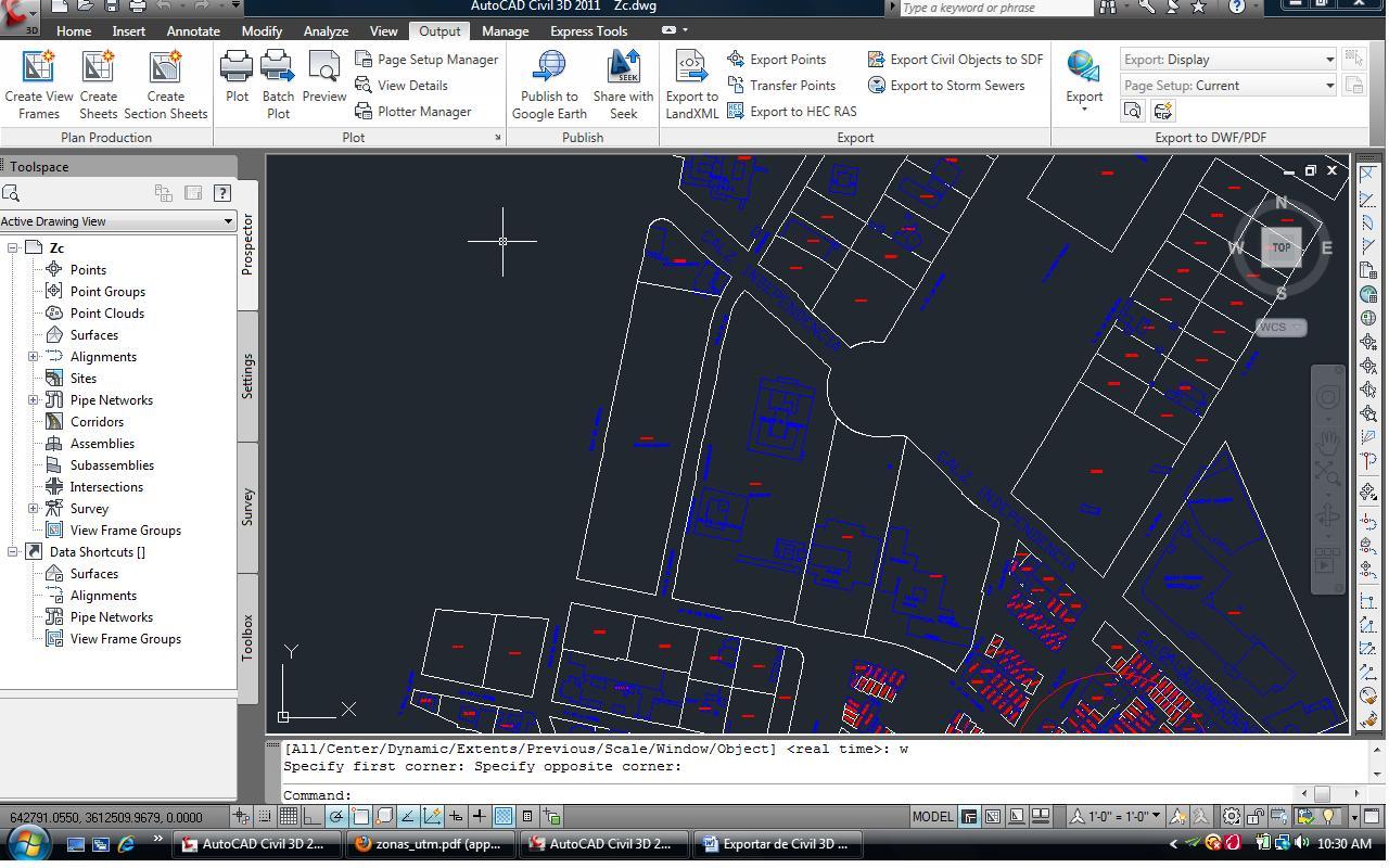 Civilpro Exportar De Civil 3d A Google Earth