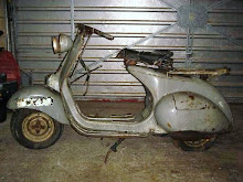 1952 Douglas Vespa rod model