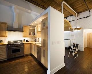 Loft Interior Design By Duchesneau & Mccomber