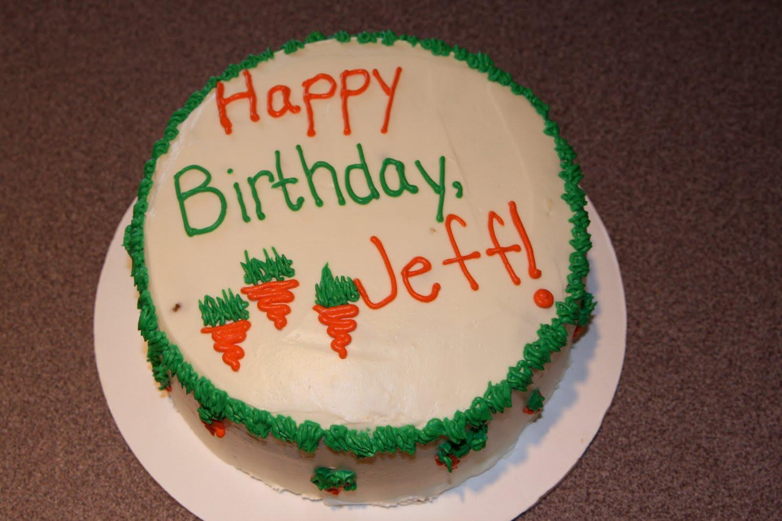 Scrumptious Creations Happy Birthday Jeff