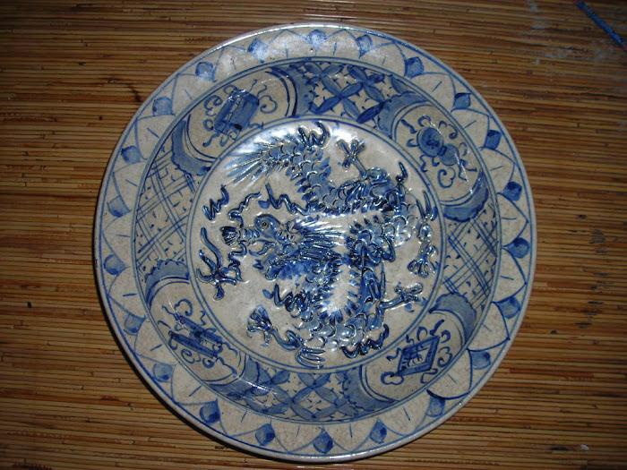 piring antik juga