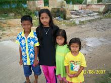 kanak-kanak yang menjadi mangsa banjir